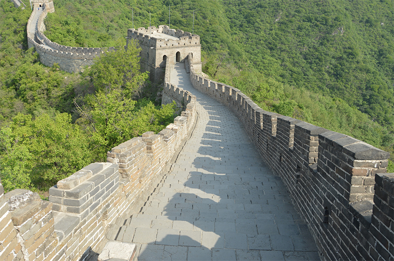 trail muraille de chine